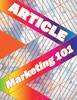 Thumbnail  Article Marketing 101